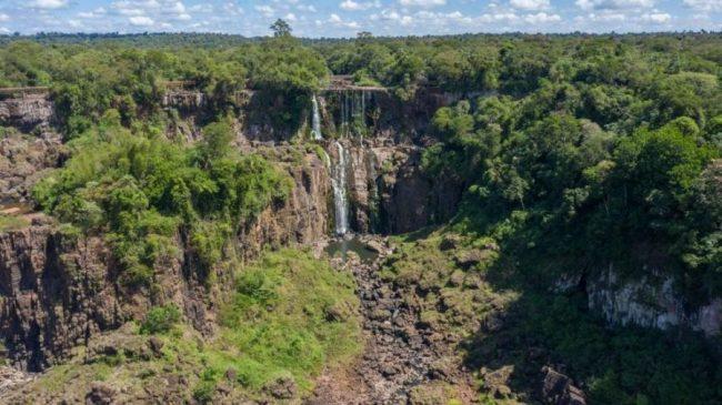 La imagen impensada de las Cataratas del Iguazú