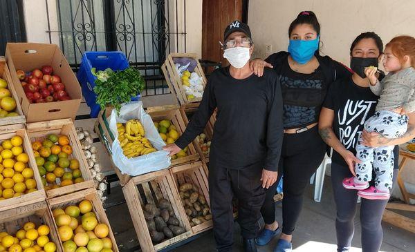 Ana, invirtió el IFE en su barrio de Jujuy y generó admiración en el país