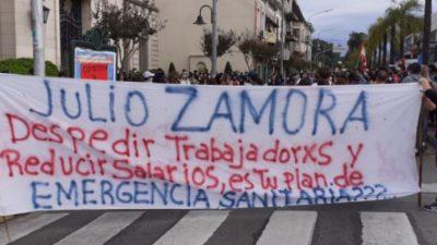 El intendente de Tigre acorralado: desde su propio gabinete le piden que dialogue con los trabajadores despedido