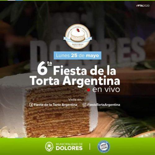 La sexta edición de la Fiesta de la Torta Argentina en Dolores será virtual