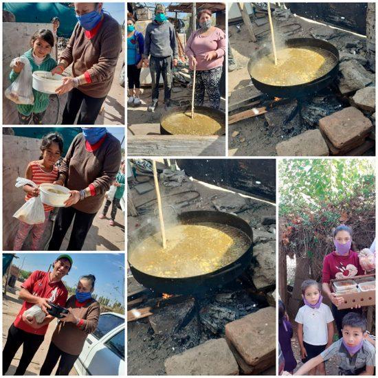 Mendoza: Dan la merienda a 70 niños todos los días y sólo reciben 1 caja de leche por semana