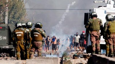 Ante la protesta, Piñera vuelve a la receta de la represión