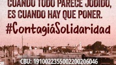 La Garganta Poderosa lanzó una campaña de donaciones para barrios populares