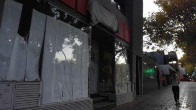 Advierten el cierre definitivo de comercios en el Gran Mendoza