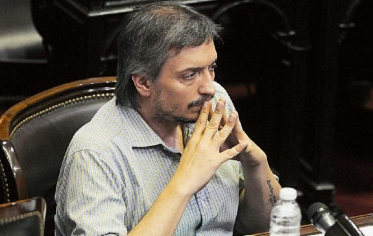 Fuerte respaldo de Máximo Kirchner a Rodríguez Larreta