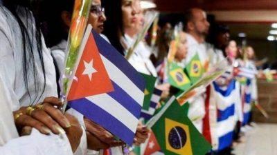 Los médicos cubanos volvieron a trabajar en Brasil