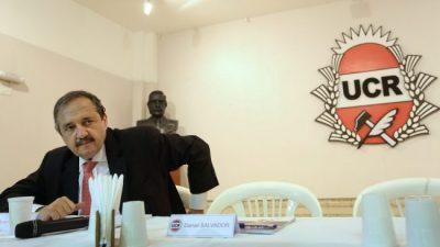 Alfonsín sobre el espionaje: «Me llama la atención que mi partido no diga nada»