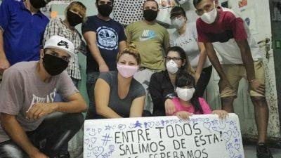 Cuarentena en La Matanza: Vecinos se organizaron y le dan de comer a 200 personas por día