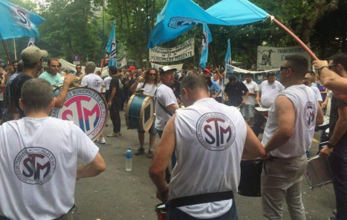Recorte salarial: crece la tensión entre el Ejecutivo y el sindicato de municipales de Mar del Plata