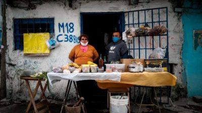 En las villas, el precio de los alimentos subió más del 20 por ciento en lo que va del año