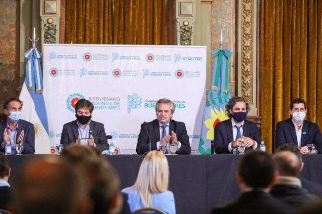"""Alberto Fernández habló sobre el coronavirus en el conurbano: """"La situación demuestra el efecto real del hacinamiento"""""""