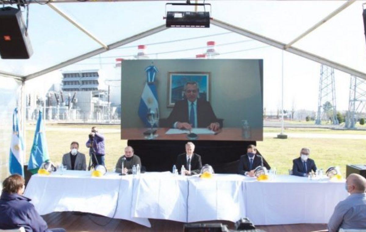 Alberto Fernández: «En no mucho tiempo más, la economía va a funcionar a pleno»