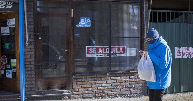 Según una encuesta de la Cámara de Comercio de Bariloche, el 14% de los locales consideran cerrar