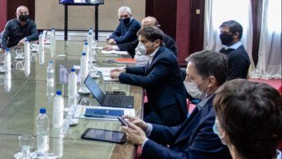 """Kicillof se reunió con intendentes para analizar la situación sanitaria, la economía y la """"post pandemia"""""""