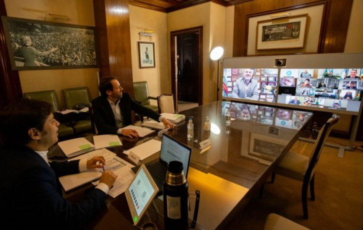 La Provincia de Buenos Aires empezó a distribuir 3 mil millones de pesos para asistir a los municipios