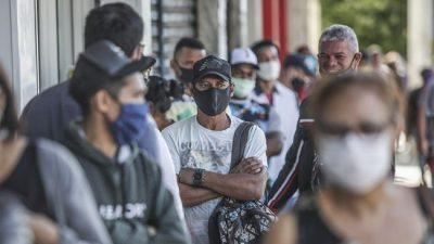 Brasil perdió más de 1,1 millones de empleos en cinco meses debido a la pandemia