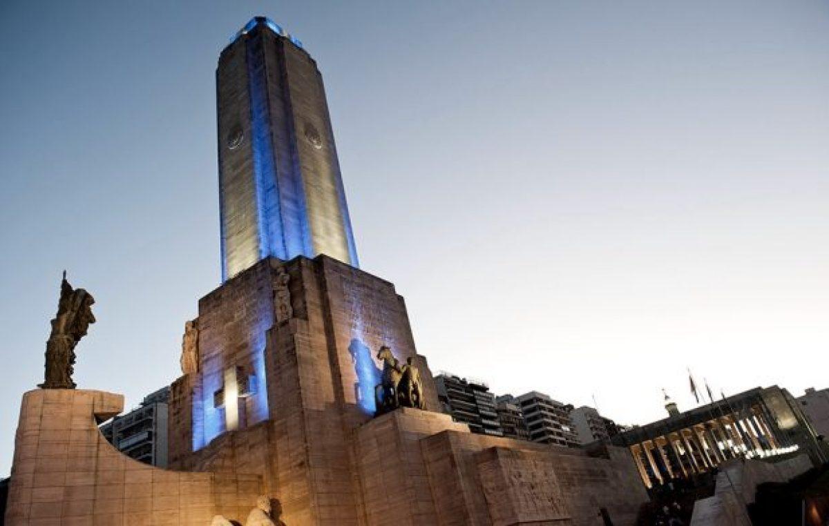 En Rosario, conectarán virtualmente al Presidente para que tome el juramento a la Bandera