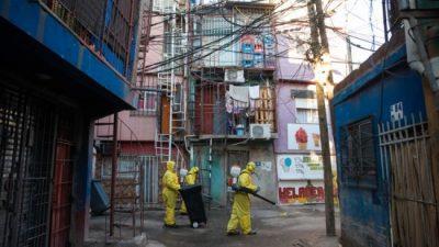 El BID aportará US$ 387.000 para un proyecto de mitigación del coronavirus en el Barrio 31