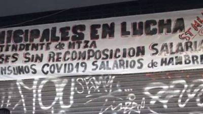 """Los trabajadores municipales de La Matanza se declararon """"en estado de alerta y movilización"""""""