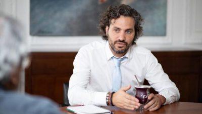 Santiago Cafiero: «El Coronavirus es democrático para expandirse, pero es clasista para contar los muertos»