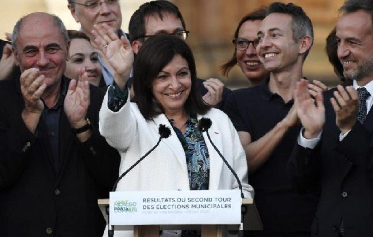 La unión de la izquierda y los verdes derrota a Macron