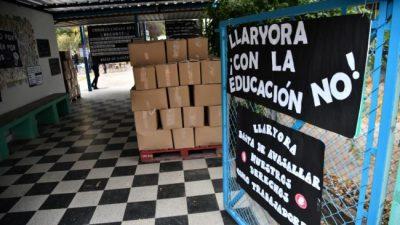 Municipalidad de Córdoba: el Suoem lleva la protesta a cuatro escuelas