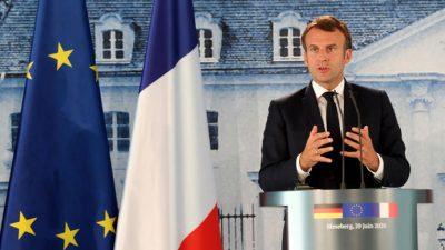 Tras el avance de Los Verdes en las municipales, Macron anuncia una batería de medidas ecológicas