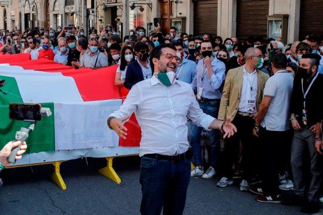 El día de la unidad italiana que la derecha aprovechó para sembrar división