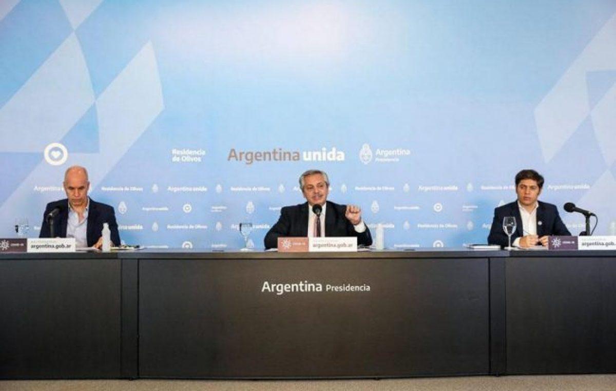 Las encuestas que miden a Fernández muestran una gestión consensuada