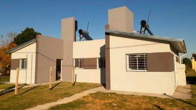 Continúan las construcciones de viviendas sociales en localidades entrerrianas