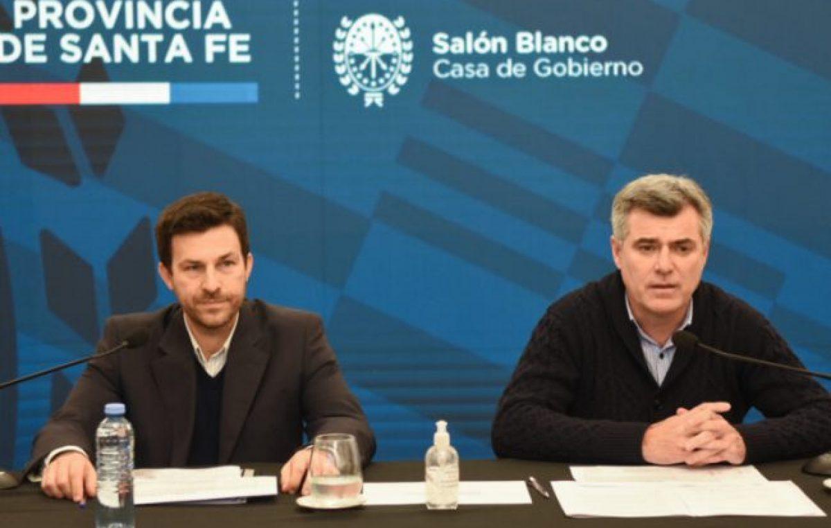 La provincia de Santa Fe anunció asistencia financiera para municipios y comunas