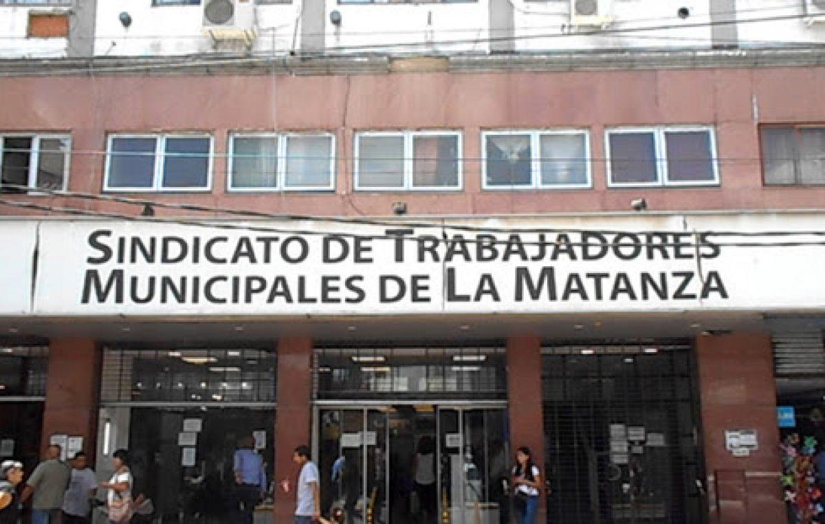 Se acordó un bono de $12.000 en tres cuotas para los trabajadores municipales de La Matanza
