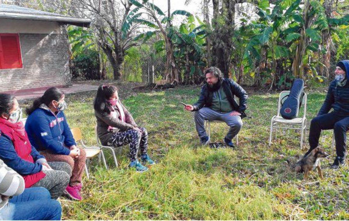 Rosario: Pandemia, trabajo escolar y el problema ambiental en las islas