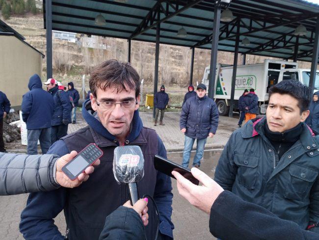 Esquel: Trabajadores de Obras Públicas municipal se declaran en alerta y asamblea permanente