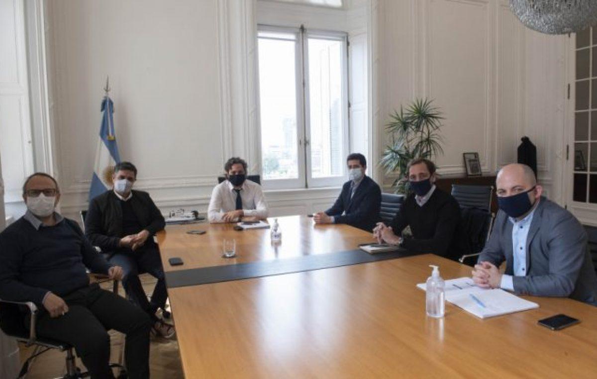 Diálogo político entre Cafiero y De Pedro con intendentes del PRO