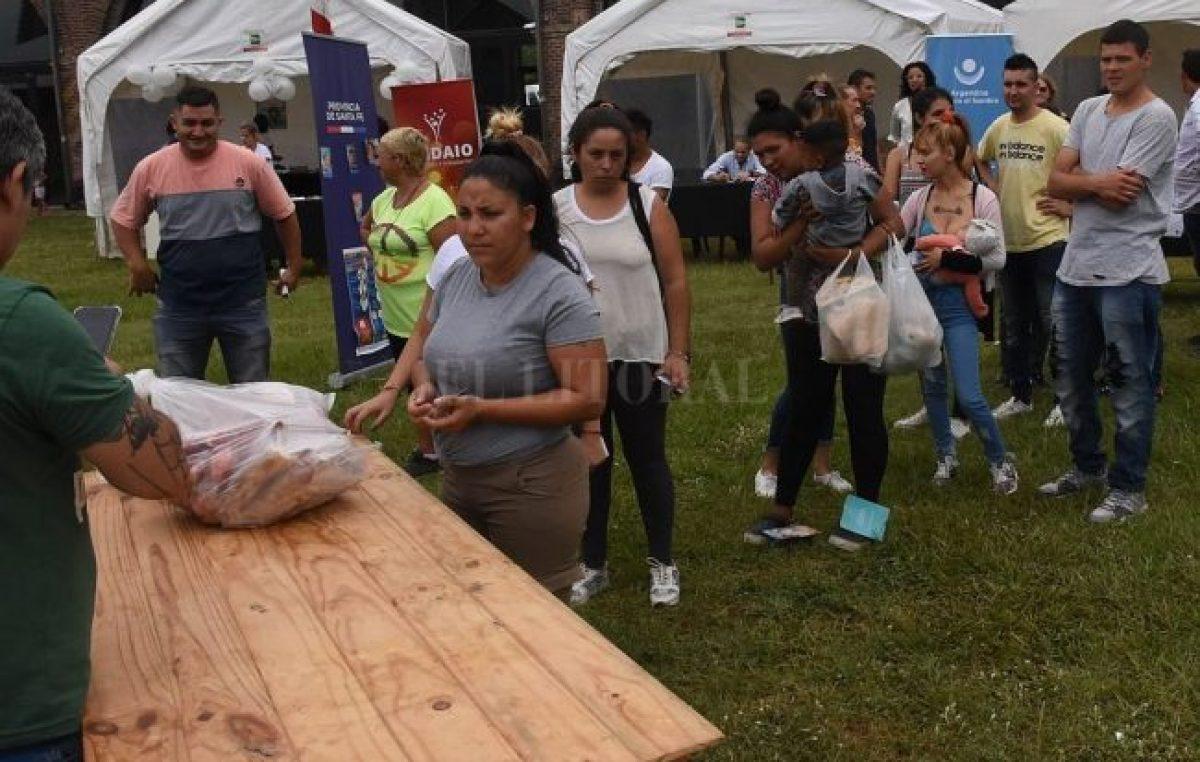 La provincia de Santa Fe lleva invertidos más de 1.250 millones de pesos en asistencia alimentaria