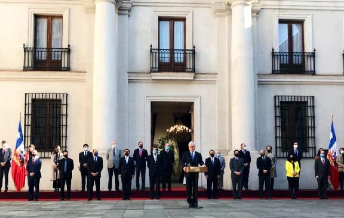 En plena pandemia, Piñera realiza cambios en el Gabinete