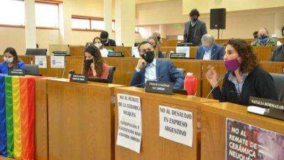 Cautela por la tasa por pandemia que propone Gaido en Neuquén