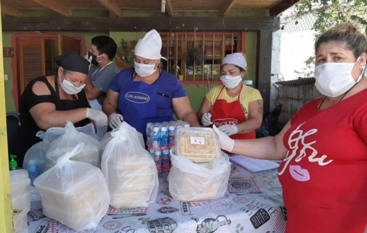 Dos instituciones educativas de Córdoba se unieron para entregar 10.800 raciones de comida