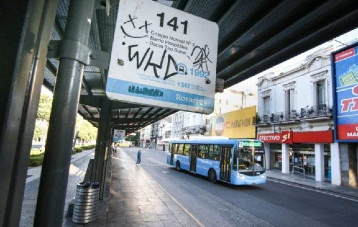 Continúa la crisis del transporte en Rosario y el paro de colectivos ya lleva 21 días