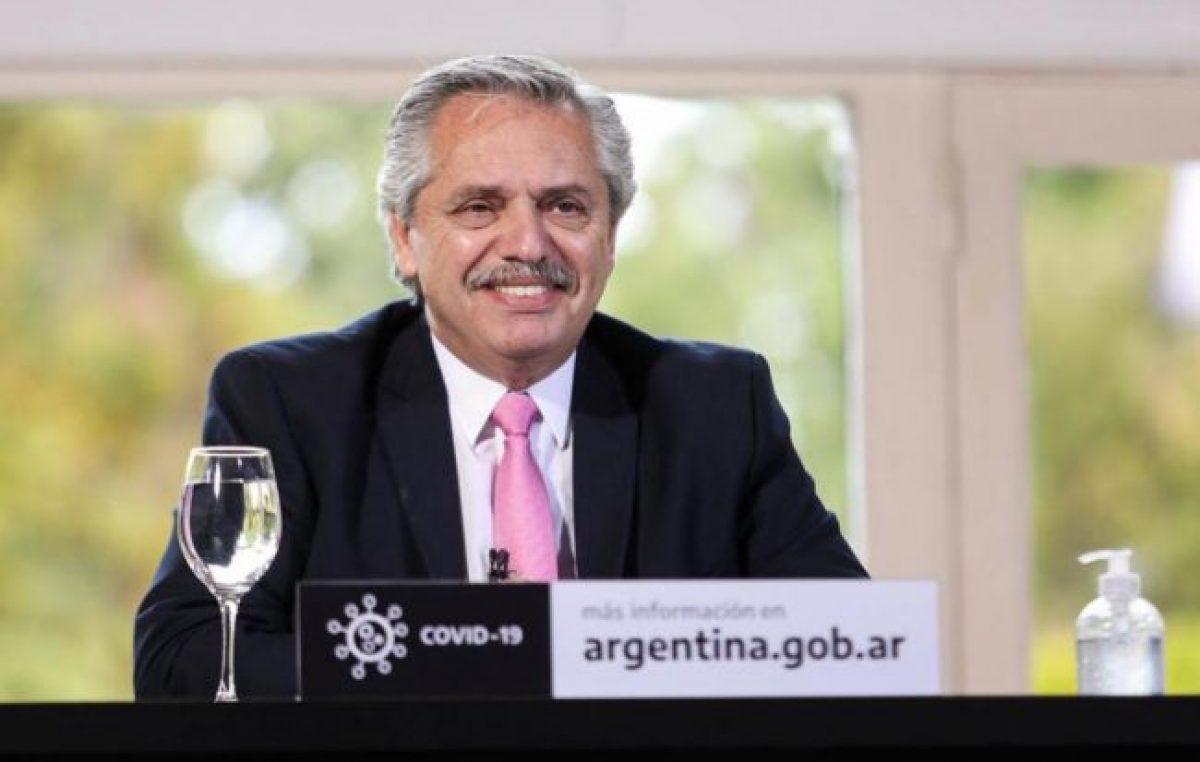 Alberto Fernández:«Llegó la hora de poner al capitalismo en su verdadera dimensión»