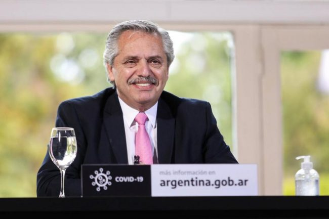 """Alberto Fernández:""""Llegó la hora de poner al capitalismo en su verdadera dimensión"""""""