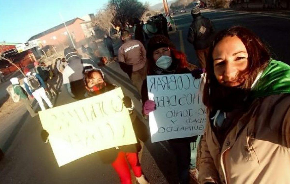 Capilla del Monte ingresa en la tercera semana del conflicto con los municipales