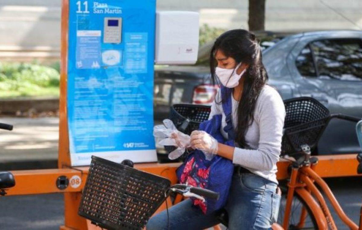 Rosario: Unas 1.960 personas empezaron a usar bicis públicas en la pandemia