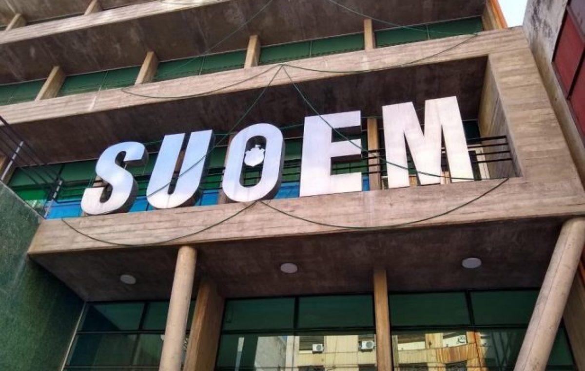 Córdoba: Suoem dio a conocer que el municipio reincorporará contratados