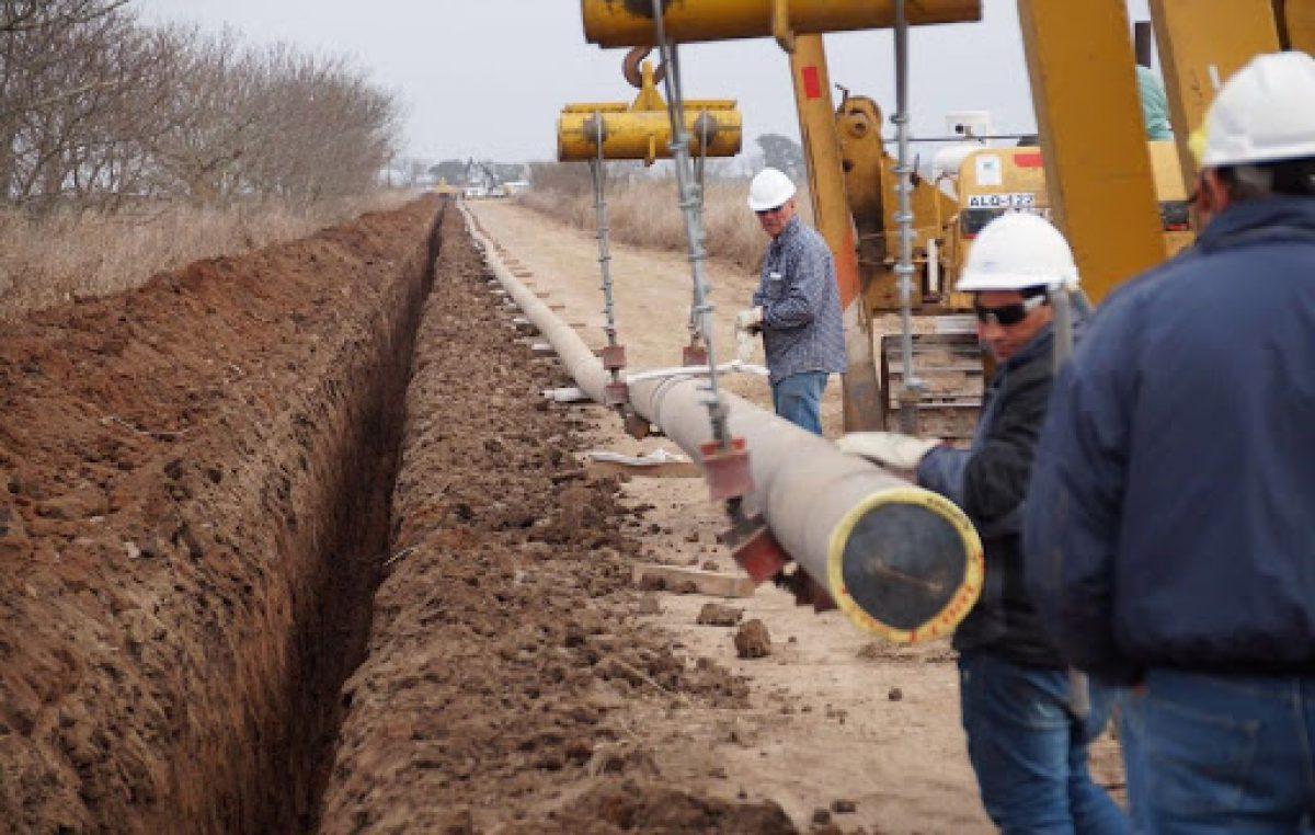 Gasoductos: se amplió la red a localidades del este cordobés