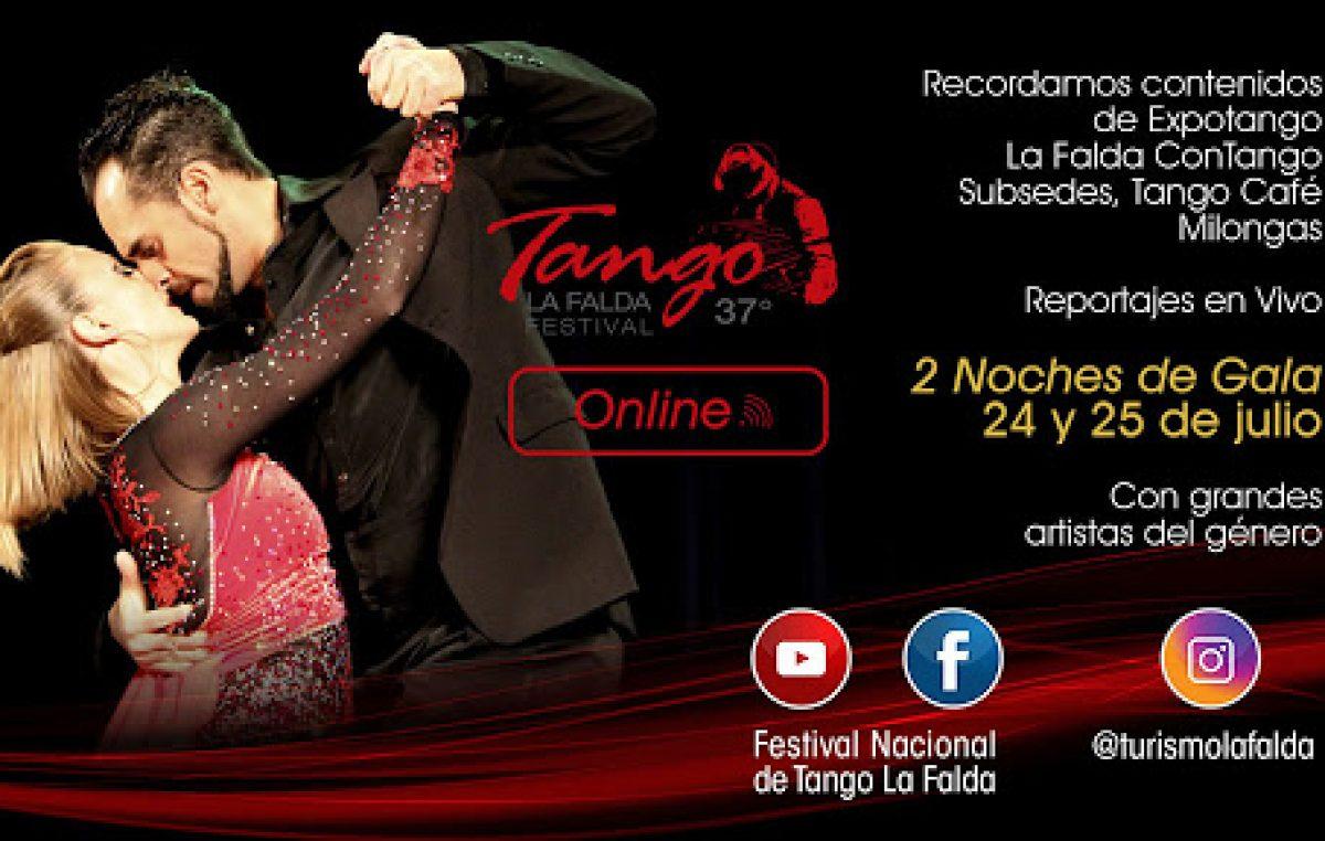 La Falda invita al 37º Festival Nacional de Tango en su formato online