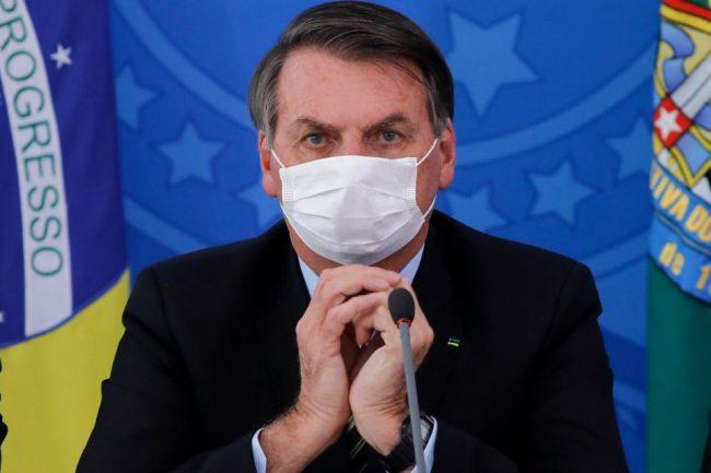 Bolsonaro infectado es el mayor vendedor de cloroquina