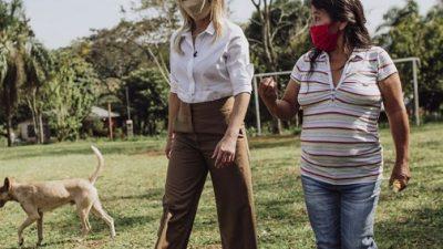 Fabiola Yáñez se suma a la campaña «Mujeres rurales, mujeres con derechos»