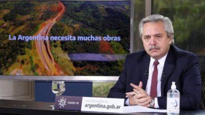 Alberto Fernández anunció obras para 5 provincias: «Ganamos autonomía y capacidad de decidir»